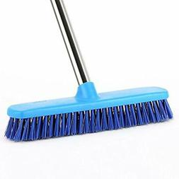 "Floor Scrub Brush Commercial, YCUTE 51.6"" Removable Long Han"