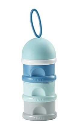 BEABA Formula & Snack Container, 3 compartments with Funnel