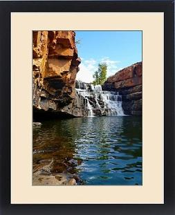 Framed Print of Bell Gorge Waterfall Gibb River Road
