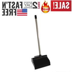 Genuine Dust Pan With Long Handle Lobby Dustpan Metal Uprigh