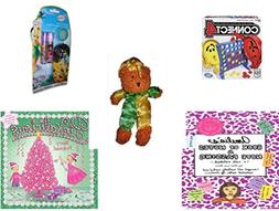Girl's Gift Bundle - Ages 6-12  - Connect 4 Game - Disney Fa