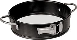 Frieling Glass Bottom Springform Pan with Handles, 9 Inch
