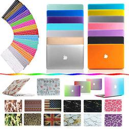 Hard Rubberized Case + Keyboard Cover for Macbook Air Pro Re