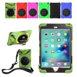 Heavy Duty Shockproof Case For iPad Mini 4 With Handle 360°
