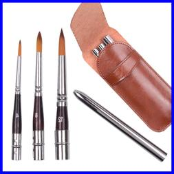 High End Art Travel Painting Brush Synthetic Sable Round Hai