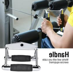 Home Gym Chinning Triangle Bar Handle Double D Low Row Handl