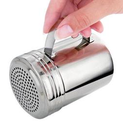 Hot Stainless Steel With Handle Spice Bottles Shaker Dispens