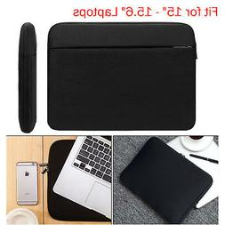 """15""""-15.6"""" Inch Soft Laptop Sleeve Case Bags Pouch Cover for"""