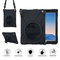 For iPad Mini 5 With Handle Grip Shoulder Strap Stand Heavy