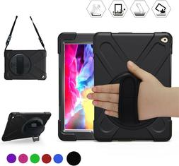 "iPad Air 2 Case 9.7"" 2014 Heavy Duty Rotating Stand Shockpro"