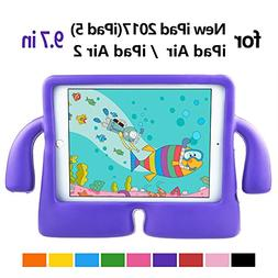 iPad Air 2 Kids Case with Handle by Hontu Freestand Lightwei