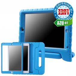 HDE Case for iPad Air - Kids Shockproof Bumper Hard Cover Ha