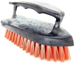 Iron Paint Handle Scrub Brush With Hard Bristles Scrubber Fl