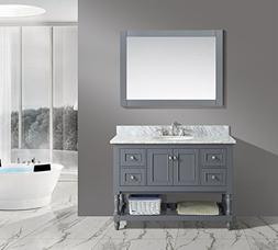 UrbanFurnishing.net - Silvia 48-Inch  Bathroom Sink Vanity S