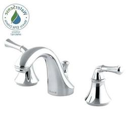 KOHLER K-10272-4A-CP Forte Widespread Lavatory Faucet with T