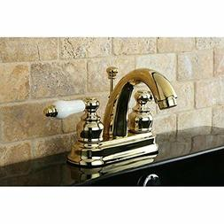 Kingston Brass KB5612PL 4 Inch Center Lavatory Faucet - Poli