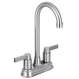 Kingston Brass KB8498NDL 4-3/4-Inch in Spout Reach NuvoFusio