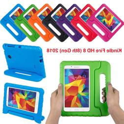 Kids Shockproof Case With Handle Stand For Amazon Kindle Fir