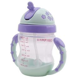 Kids Sippy No Spill Cup with Handle  Kid Soft Spout Toddler
