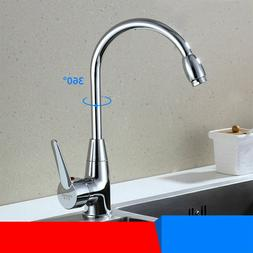 Kitchen Spring Faucet 360 Swivel Sink Bar Pull Out Sprayer S