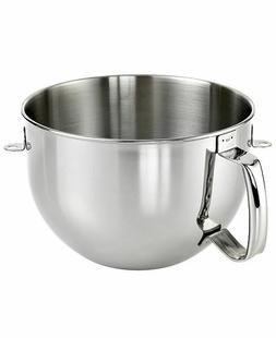 New KitchenAid Bowl with Handle for Stand Mixer 6-QT Stainle