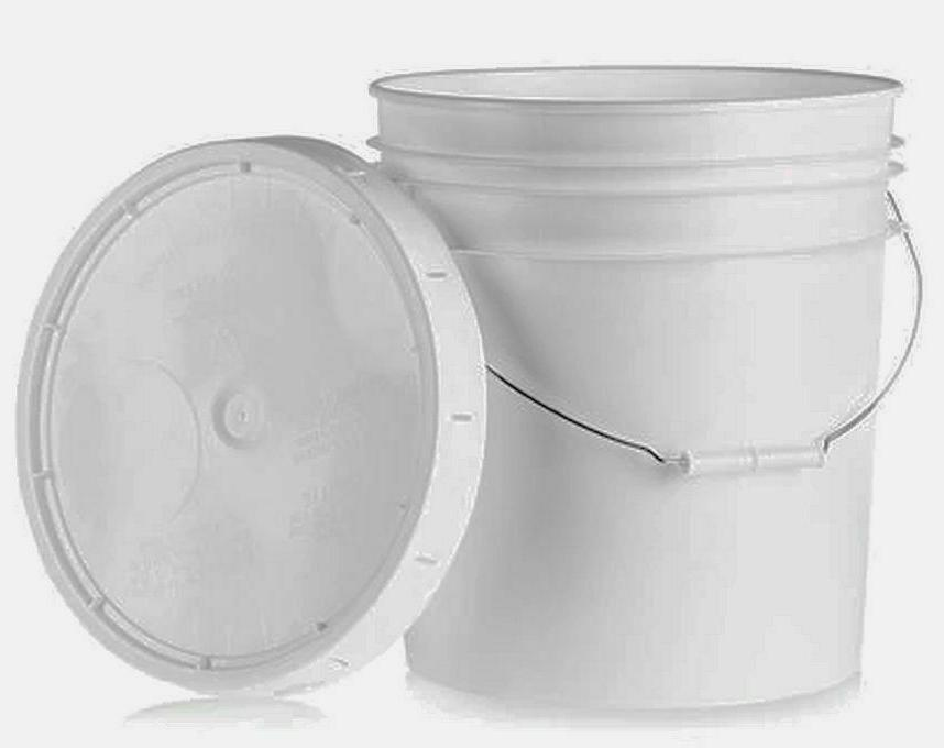 1 With Handle Lid, White,