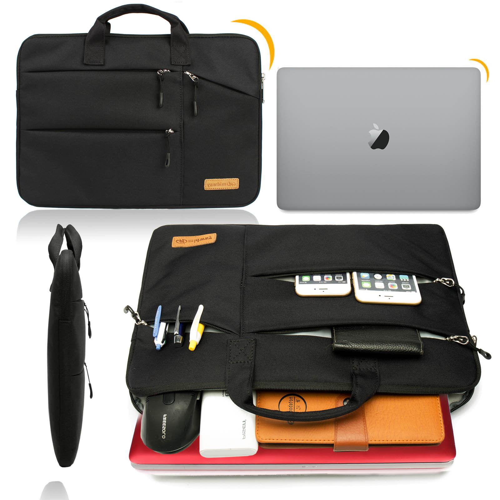 13 15 15.6 Inch Laptop Sleeve With Handle & Zipper Pocket/No