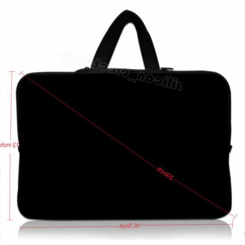 17 laptop sleeve bag with hide handle