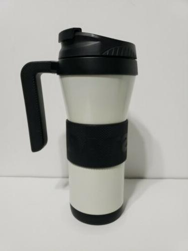 2016 white miller stainless tumble with handle