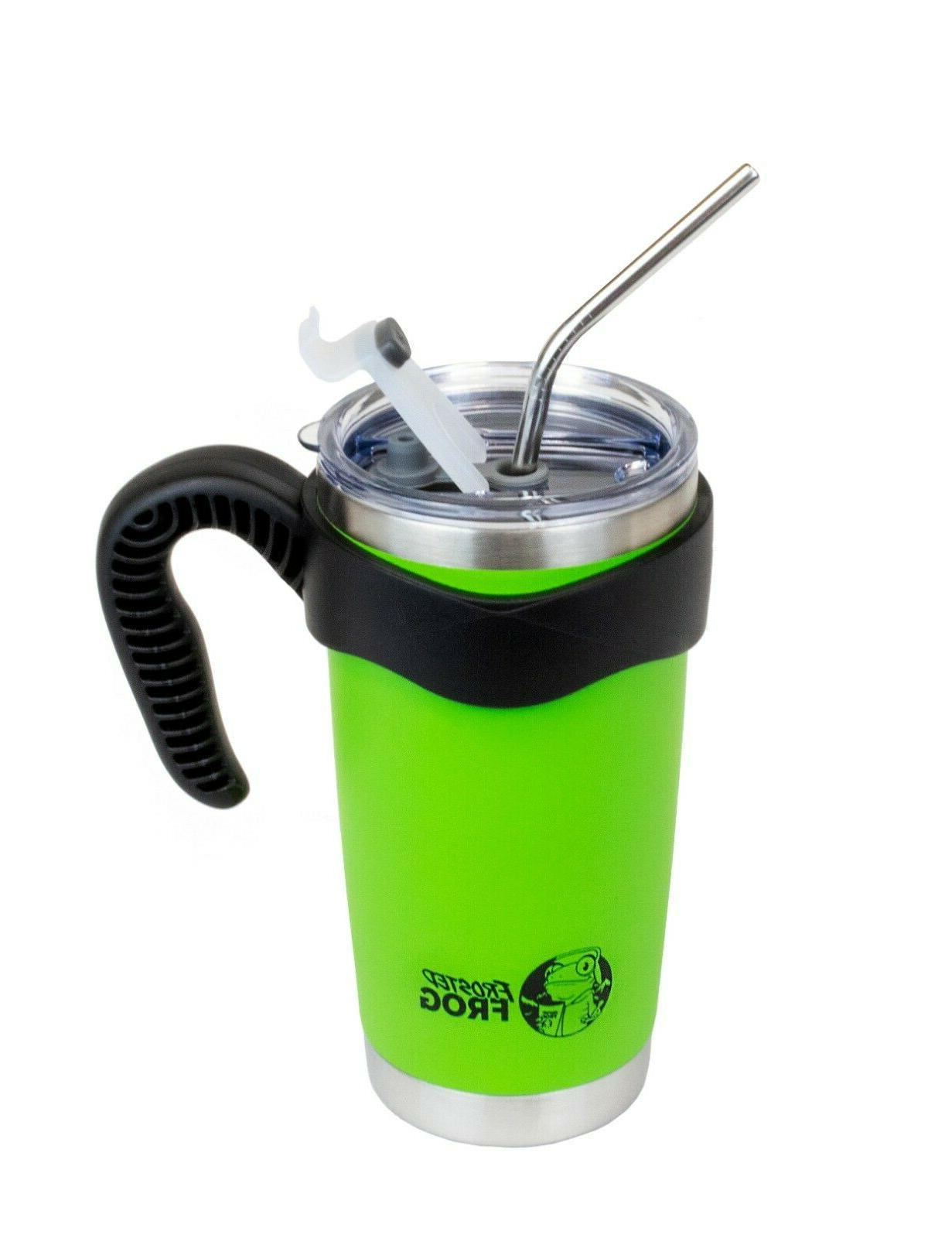 Frosted Frog 20oz Green Vacuum Insulated Stainless +