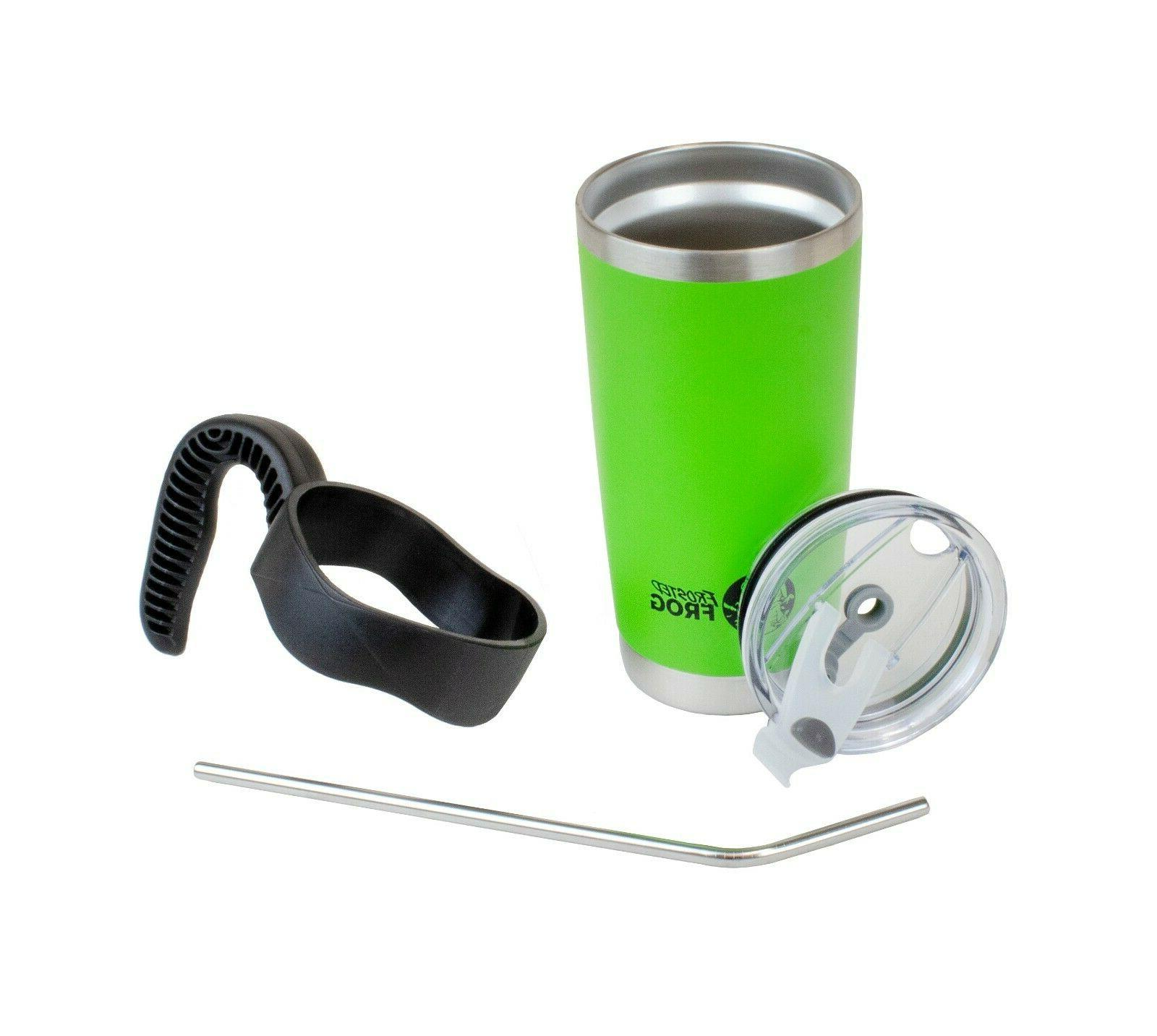 Frosted Frog 20oz Vacuum Stainless Handle