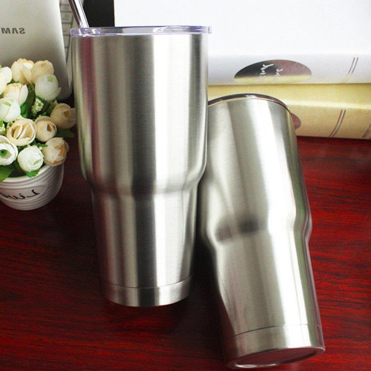 30oz Stainless Tumbler With Handle Insulated