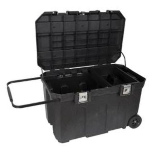 CRAFTSMAN 37-in Wheeled Lockable Tool Box Chest with Handle