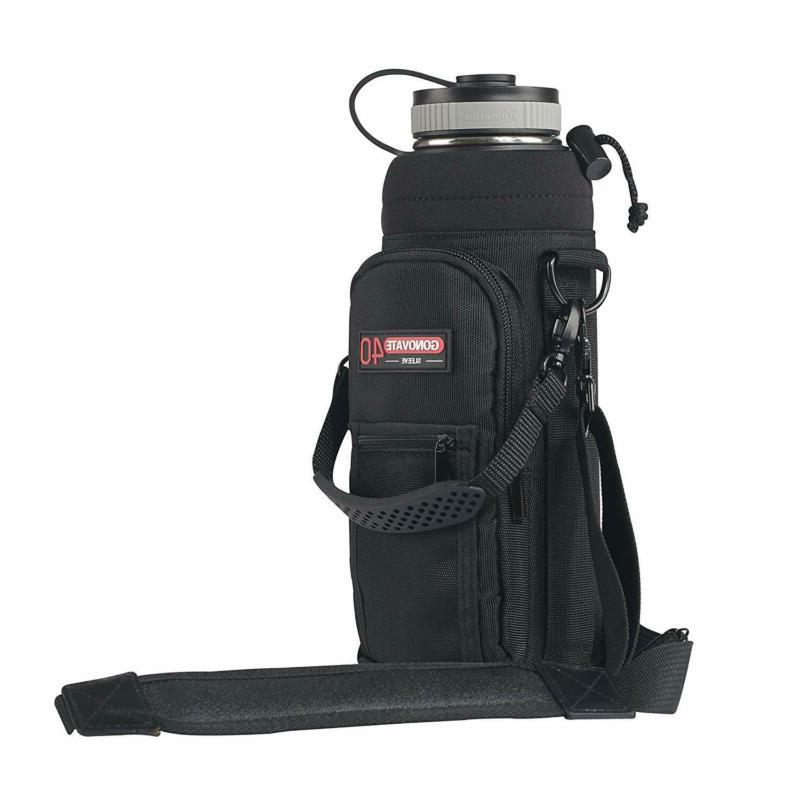 GoNovate 40 oz Pouch/Sleeve with Carrying Handle for Hydro F