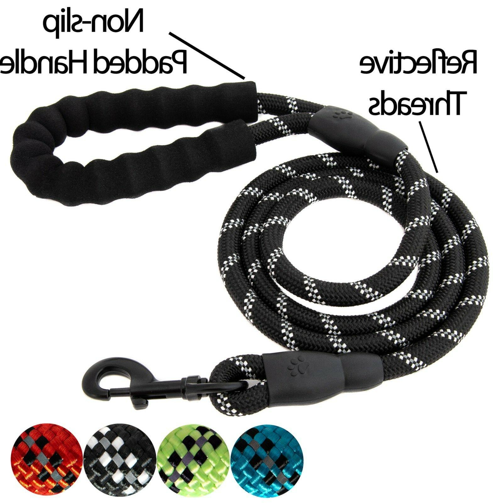 5 ft strong dog rope leash lead