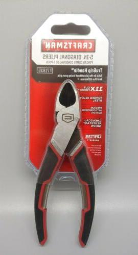 5 inch diagonal cutting pliers with trugrip
