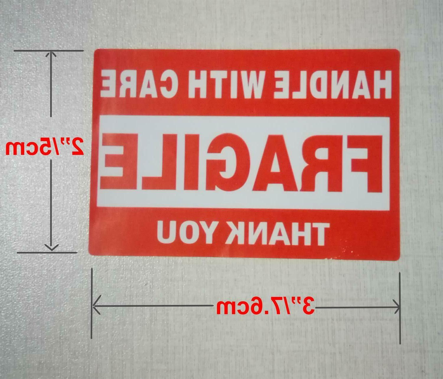 500 Sticker Handle Care Shipping Labels From USA