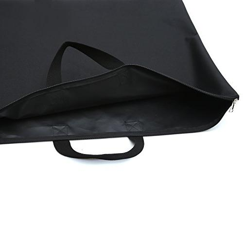 Augbunny 600D Portfolio With Handle For Student and 2-pack