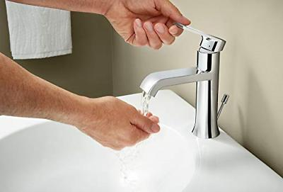 Moen 6702 Single-Handle Faucet with Drain Assembly,