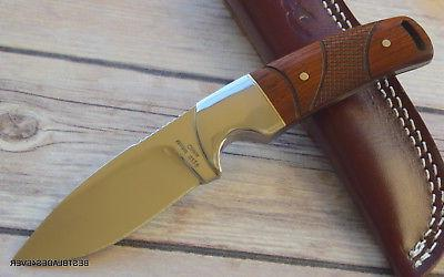 7 WOOD HUNTING KNIFE WITH