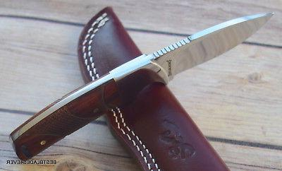 7 INCH BROWNING WOOD KNIFE WITH