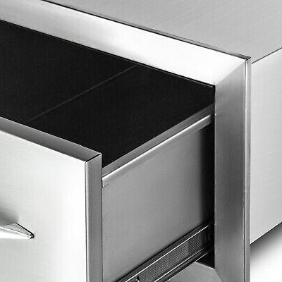 """8.5"""" x Stainless Steel With Superior Drawer"""