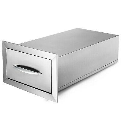 """8.5"""" x 14"""" BBQ Stainless With Superior Tracks"""