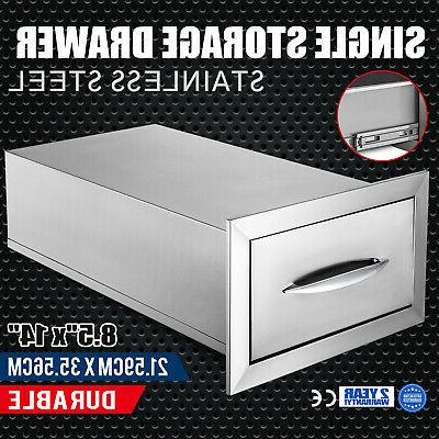 8 5 x 14 bbq stainless steel