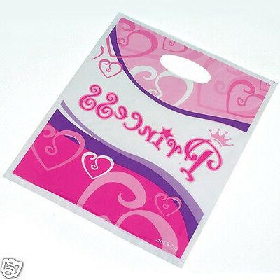 8 plastic princess with handle girl party