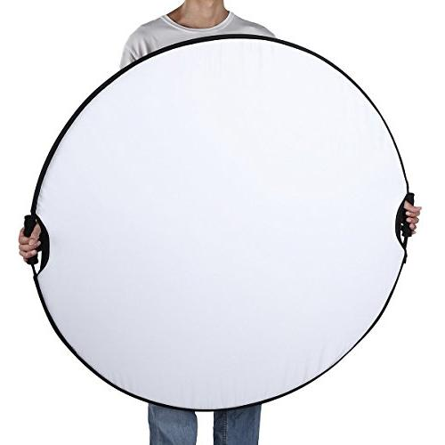 Fairview Lighting 32 80cm Round Disc Carrying Camera Photo &Outdoor Gold White