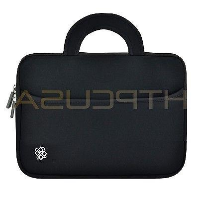 "Carrying Case Sleeve For 12"" 13"" Laptop With Handle Bag Blac"
