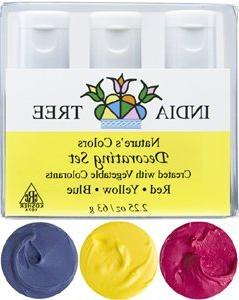 India Tree Natural Decorating Colors Set, 3-Count 2.25 ounce