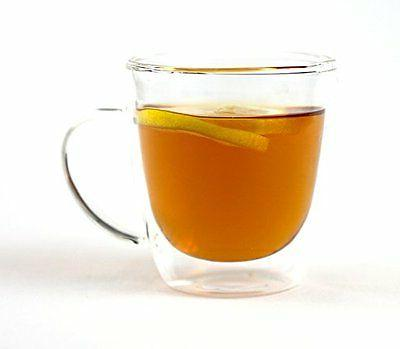 Tea & Coffee Glass Cup by VizCása - Insulated Double-Wall M