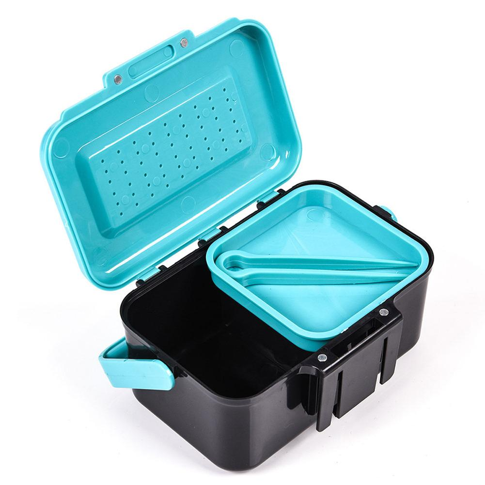Accessories Tool <font><b>Handle</b></font> Live Lure Carrying Tackle Container